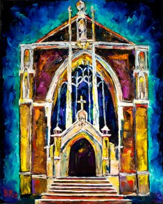 Ursuline Church painting