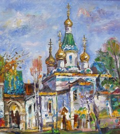 Russian Church painting